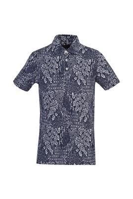 Polo Yaka Baskılı Slim Fit Tişört