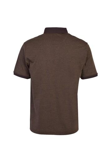 Polo Yaka Desenli Süprem Tişört