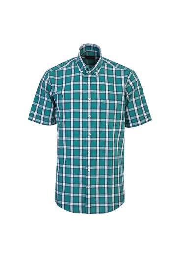 Kısa Kol Ekose Spor Gömlek