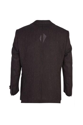 İtalyan Klasik Desenli Yün Ceket