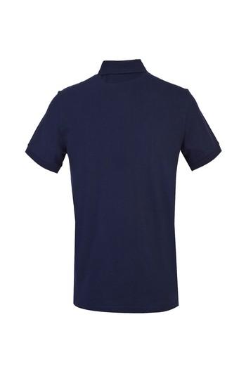 Polo Yaka Regular Fit Baskılı Tişört