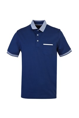 Polo Yaka Regular Fit Merserize Tişört