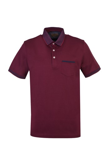 Polo Yaka Regular Fit Merserize Tişört