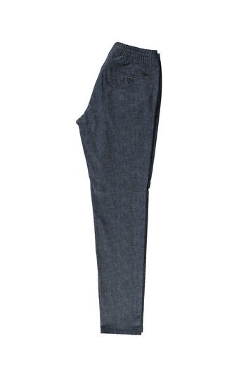 Slim Fit Desenli Bağcıklı Spor Pantolon