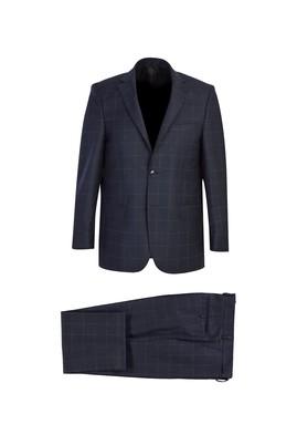 Klasik Yünlü Ekose Takım Elbise