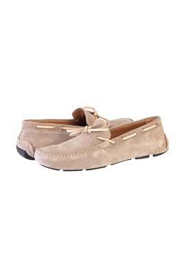Süet Bağcıklı Loafer Ayakkabı