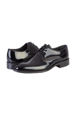Püsküllü Klasik Rugan Ayakkabı