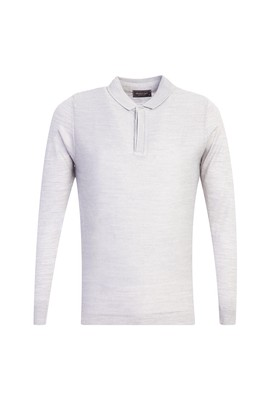 Polo Yaka Slim Fit Triko Kazak