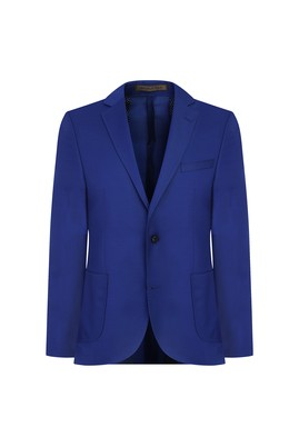İtalyan Regular Fit Yün Blazer Ceket
