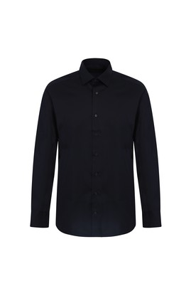 Uzun Kol Non Iron Saten Klasik Gömlek