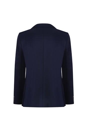 Slim Fit Yünlü Blazer Ceket