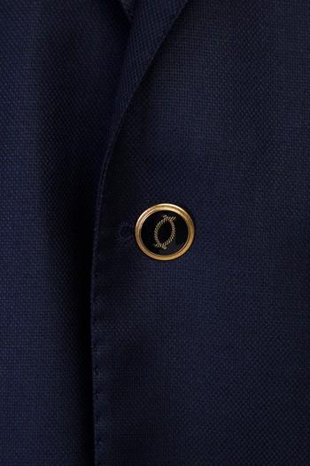 Klasik Yünlü Blazer Ceket