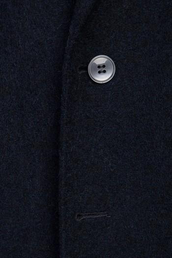 Slim Fit Yünlü Örme Ceket