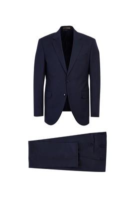 Yün Balıksırtı Slim Fit Takım Elbise