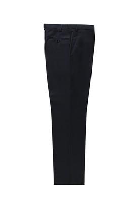 Yünlü Slim Fit Desenli Klasik Pantolon