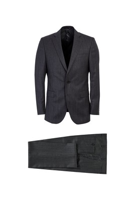 Yün Kuşgözü Klasik Takım Elbise