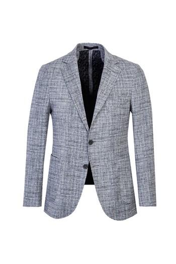 Desenli Slim Fit Ceket