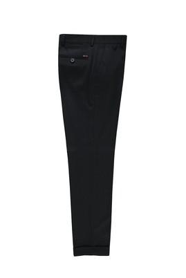 Yünlü Desenli Klasik Pantolon