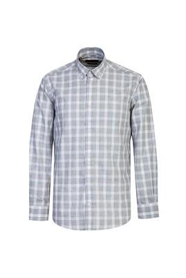 Uzun Kol Non Iron Regular Fit Ekose Gömlek