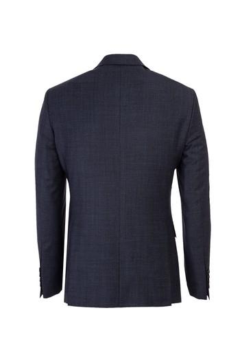 Yünlü Kuşgözü Slim Fit Takım Elbise