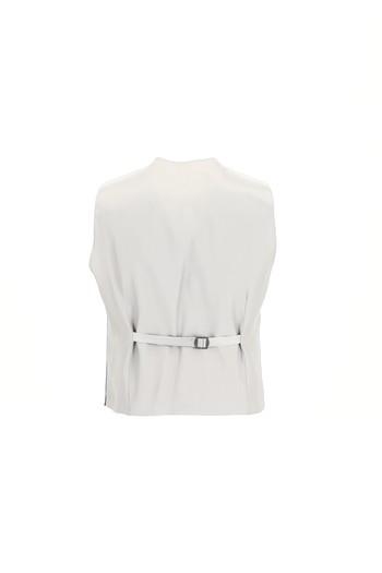 Slim Fit Yelekli Yünlü Kombinli Ekose Takım Elbise
