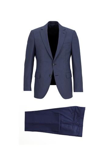 Regular Fit Kombinli Desenli Takım Elbise