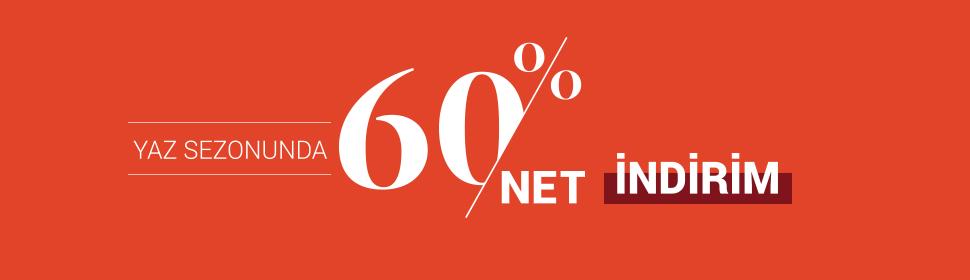 Net %60 İndirim